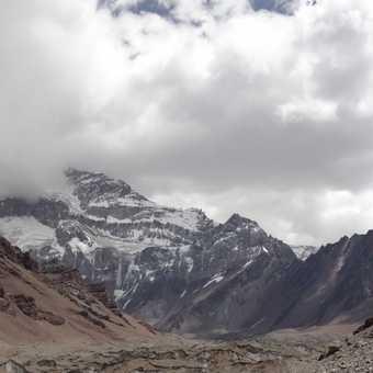 Aconcagua South Face Panorama