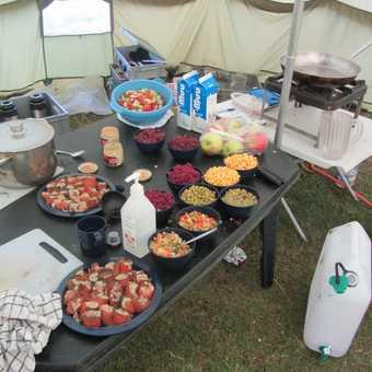 Camp at Kerlingarfjoll