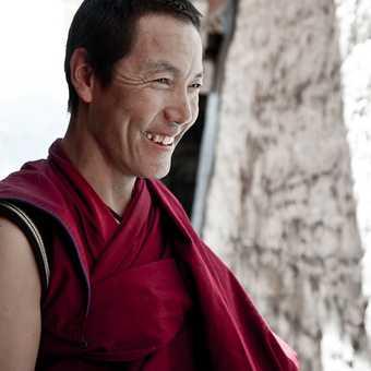 Debating Monk, Sera Monastery, Lhasa