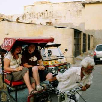 Cycle rickshaws in Jaipur