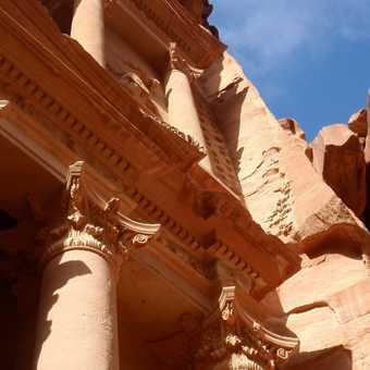 View of the Treasury, Petra