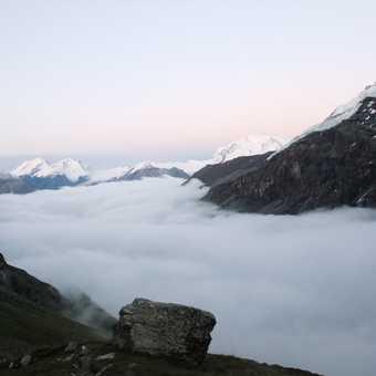 View from the Schonbiel Hut
