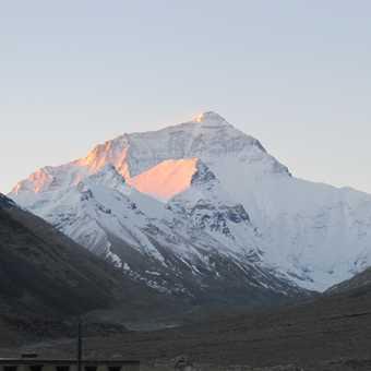 dawn on Everest
