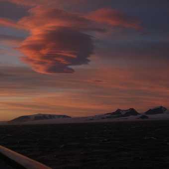 Sunrise in Antarctica