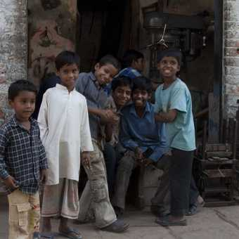 Day 3. Kids in Varanasi