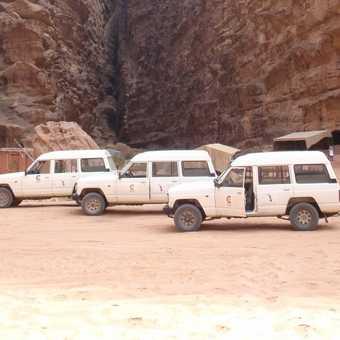 Campsite in Wadi Rum