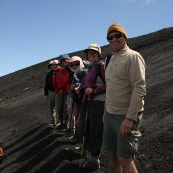 Standing in Etna's plentiful ash fields
