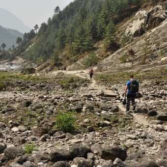 Probably the flatest area of the trek!