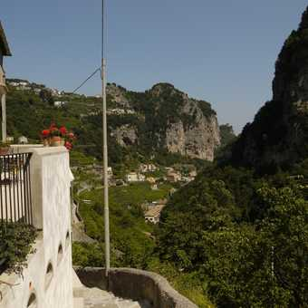 Nearly in Amalfi now