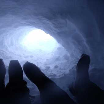 View from igloo