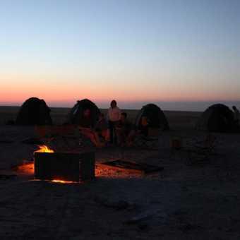 Salt pam campsite