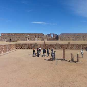 Tiwanacu Ruins