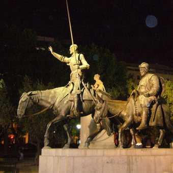 Don Quixote and Sancho Panza!