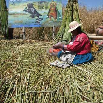 Reed Island - Lake Titicaca