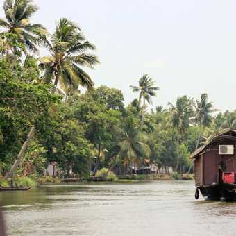 Houseboat at Alleppy
