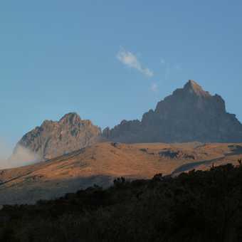 The second peak on kili