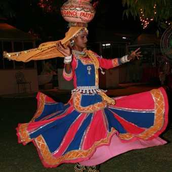 Traditional dancer, Jaipur