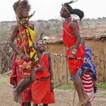 Masai jumping dance