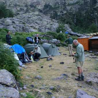 Overnight at the Bergeries de Vallone