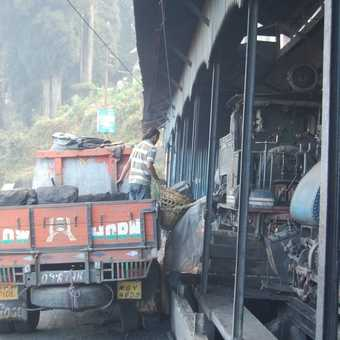 Coal loading, Darjeeling Station