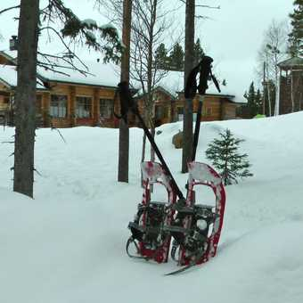 Hanging up the snowshoes
