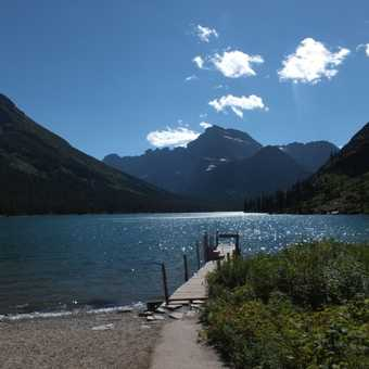 Josephine Lake, Glacier National Park.