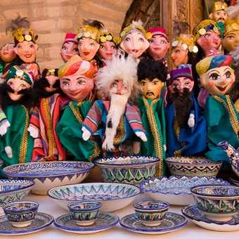 Dolls and Bowls in Khiva