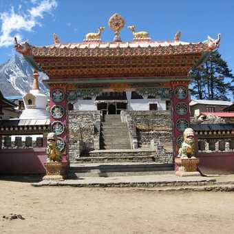 Entrance to Monastery at Tengboche