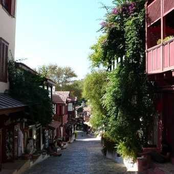 Street view of Kas