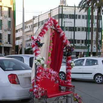 A family photo booth in Tripoli