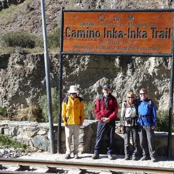 starting in inca trail