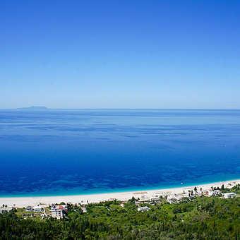 View of Dhermi Beach
