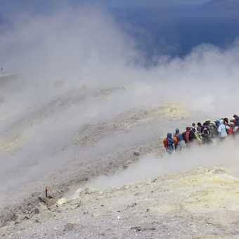 On top of Vulcano