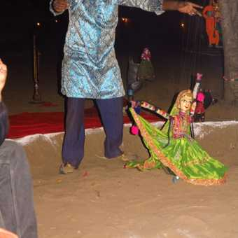 puppet show, Pushkar camp