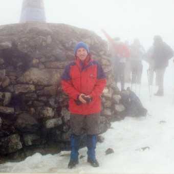 First ascent of Ben Nevis..June 2006
