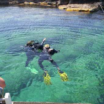 Scuba diving in Kas