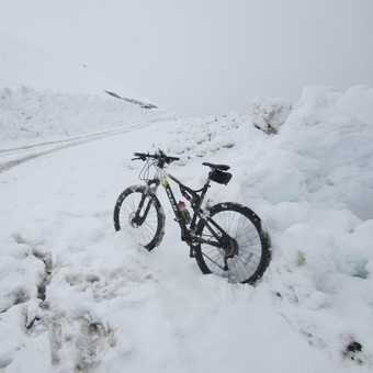 snow on hatcher pass