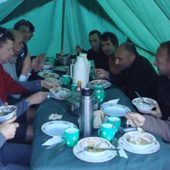 Our Last Supper before the summit attempt