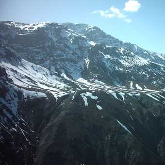 the pass over the High Atlas