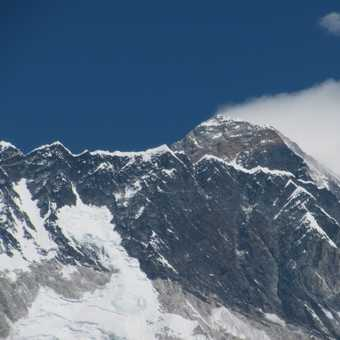 First view of Ama Dablam