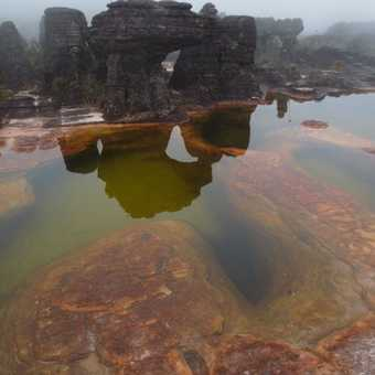 "On Roraima, Crystals, pink sand, ""jacuzzies"" for a dip"