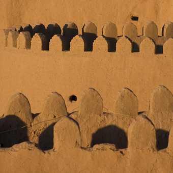 The Mud Wall at Khiva