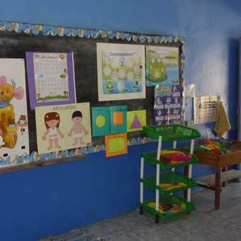Meeting the dancers at the elementary school, La Trinidad de Dota