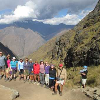 We couldn't have done it without or fantastic guides and porters