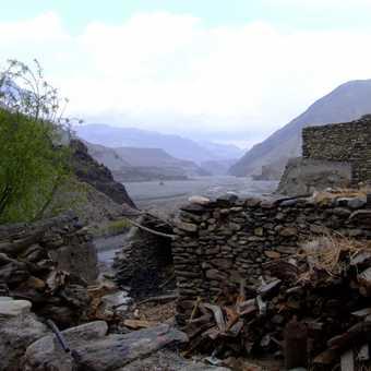 Kali Gandaki valley (N) from Kagbeni