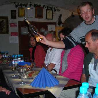 Wine tasting blindfold