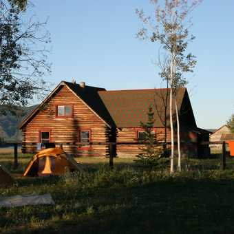 Camping at Fort Selkirk