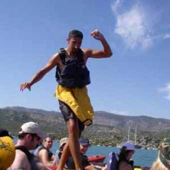 Can kayak walking