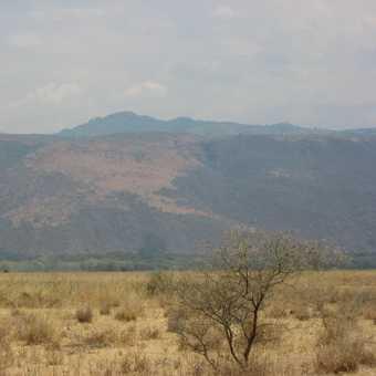 Ekephant migration corridor up the rift valley escarpment