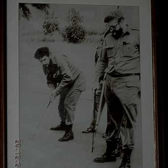 Che and Fidel on the linke